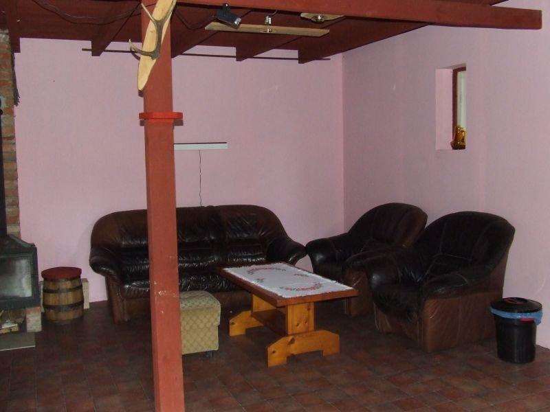 Sala kominkowa - fotele i sofa